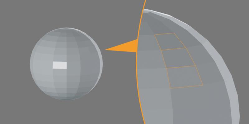Blenderで作った球のカクカクの正体