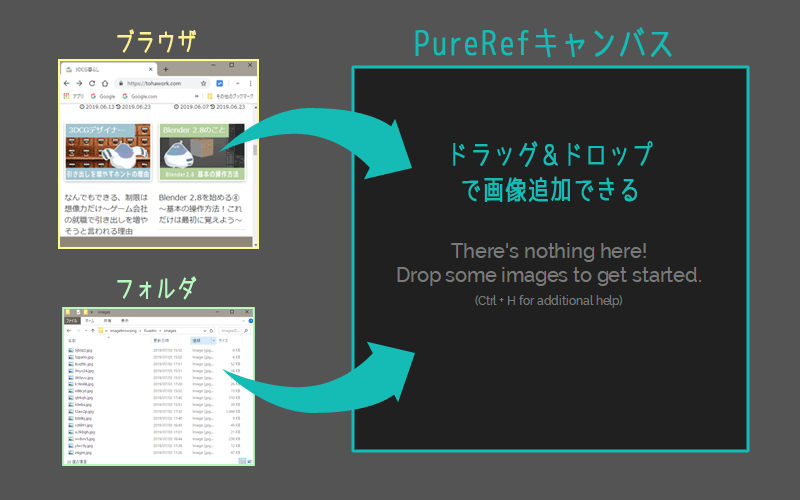 PureRefの画像追加